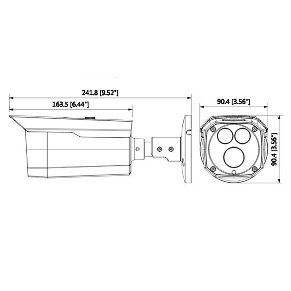 دوربین شبکه داهوا HFW 4431 DP AS