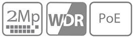 TIANDY-2MG-WDR-POE