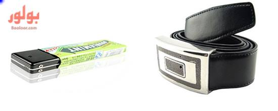 spy camera watch belt