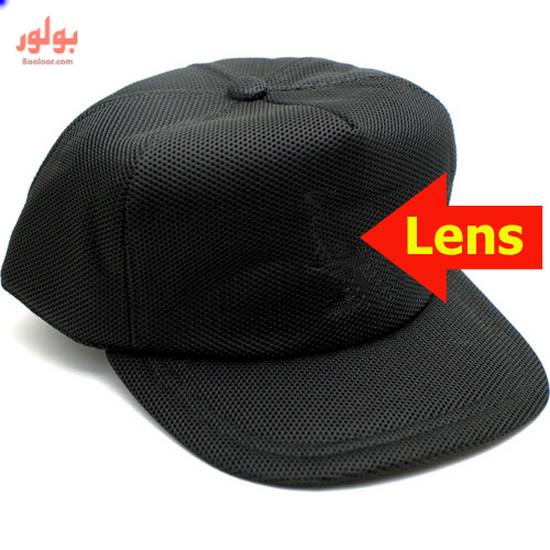 spy camera on hat